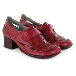 Sapato New Kelly em couro Romã J.Gean