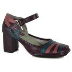 Sapato Em Couro Galeany Alto Amora J.Gean