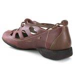 Sapatilha em Couro Vermelha J.Gean AI0251-06