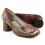 Sapato Em Couro Galeany Alto Truffa J.Gean
