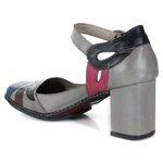 Sapato Em Couro Galeany Alto Aço J.Gean
