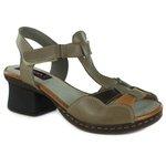 Sandália Em Couro Marjorie Pele J.Gean BL0003-01