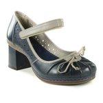Sapato em Couro Desiree Blue J.Gean CJ0002-01