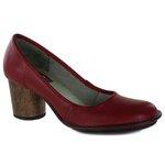 Sapato Lolla Alto em couro Romã J.Gean