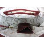 Bolsa Artesanal Bau Lisa Vermelha 100% em Couro J.Gean