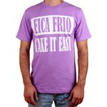 CAMISETA FICA FRIO/TAKE IT EASY (PURPLE)