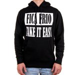 MOLETOM FICA FRIO/TAKE IT EASY PESADO (BLACK)