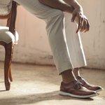 Sapato Brogue Masculino Ezera Conhaque