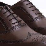 Sapato Masculino Brogue Pierre Marrom