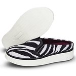Mule Slip On Feminino Zebra Heana 101