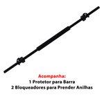 Kit Body Pump - Barra c/ Protetor + 16kg de Anilhas Emborrachadas