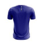 Camisa Casual Masculina Azul duas barras