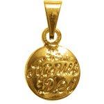Medalha Folhado à Ouro Agnus Dei