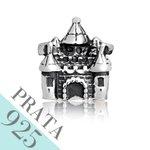 Pingente Castelo da Cinderela Memories Prata 925