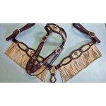 Conjunto Cabecada e Peiteira - Master Saddles 40