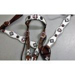 Conjunto Cabecada e Peiteira - Master Saddles 36