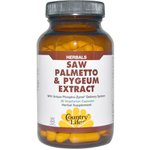 Saw Palmetto e Pygeum Extract - Country Life