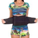 Cinta Modeladora Protetor Lombar Policarbonato Ajuda Na Perda de Gordura