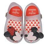 Sapatilha Infantil Mickey E Minnie do 17 ao 24 Cinza