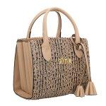 Bolsa Selten Handbag Sanfonada Feminina Mocassim