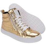 Bota Selten Treino Sneaker Dourada