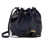 Bolsa Mickey Saco + Carteira Azul Escuro