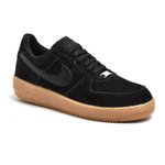 TENIS NIKE AIR FORCE PRETO C/ CASTOR