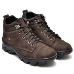 ab1802dff957a Bota Coturno Adventure Masculino Top Franca Shoes Cafe | TOP FRANCA ...