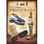 Botina Feminina - Fóssil Preto / Preto - Roper - Bico Quadrado - Solado Freedom Flex - Vimar Boots - 12158-B-VR