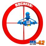 Bomba Roda D'água Rochfer - MS ULTRA-42   1,65 x 0,13 m