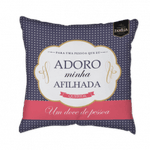 Almofada - Afilhada Adoro