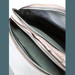 Pasta Executiva De couro Legitimo flother preto modelo platinum