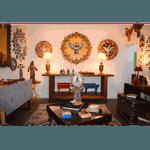 Divino Espírito Santo Luminária com Esculturas de Flores Coloridas 1,20m.