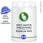 Whey Protein Concentrado 80% Baunilha 900g
