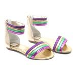 Sandália Multicolorida Gats
