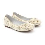 Sapato de Pérolas Feminino Infantil Gats