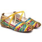 Sandália Tiras Coloridas Gats