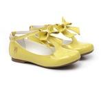 Sapatilha Laço Amarelo