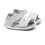 Sandália de Velcro Branco Gats