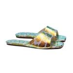 Slide Animal Print Holográfico Infantil Gats