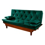 Sofa Cama Reclinavel Caribe Verde