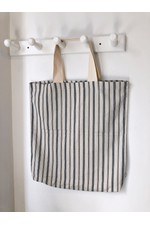 Bege Linen Beach Bag
