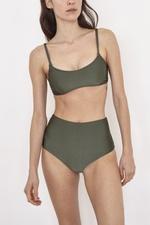 Hot Pants Verde Militar