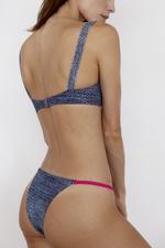 Calcinha Ellis Jeans com Pink