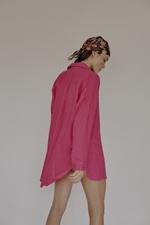 Camisa Linne Pink
