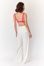 Pantalona Vicky Linho Off White