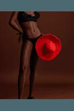 Chapéu Helena Vermelho