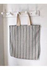 Bege Linen Beach Bag