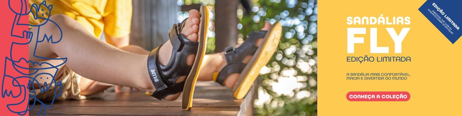 Sandálias Fly - Edição Limitada
