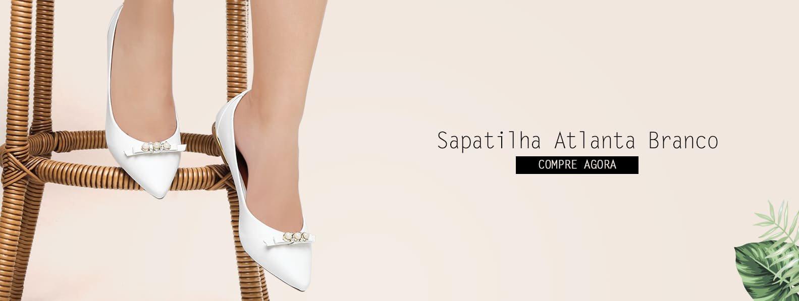Sapatilha Branca - Violanta Calçados